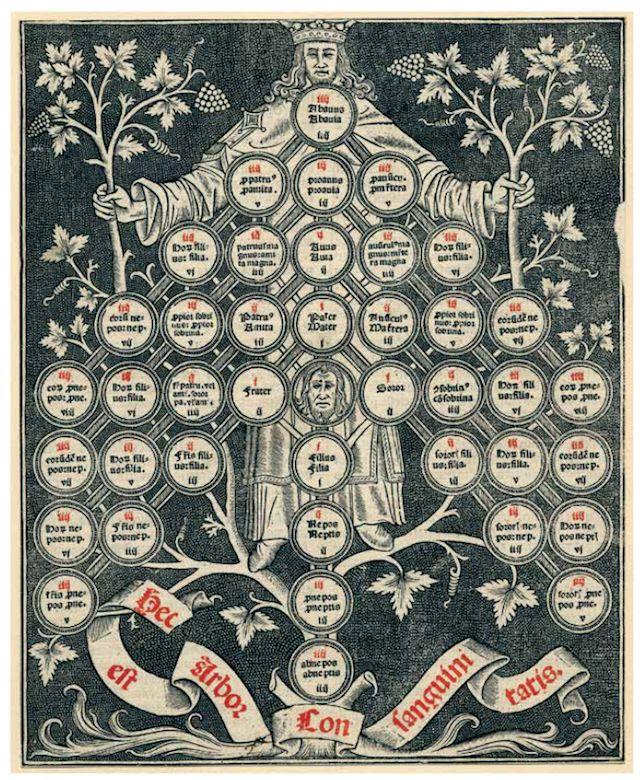 tree of consanguinity-compressed